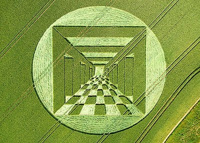 Crop Circles are Back in 3D