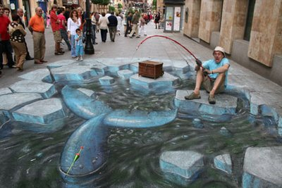 Julian Beevers New 3D Sidewalk Paintings