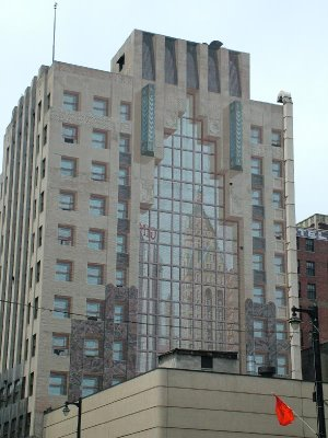 Mural of a Reflection Illusion