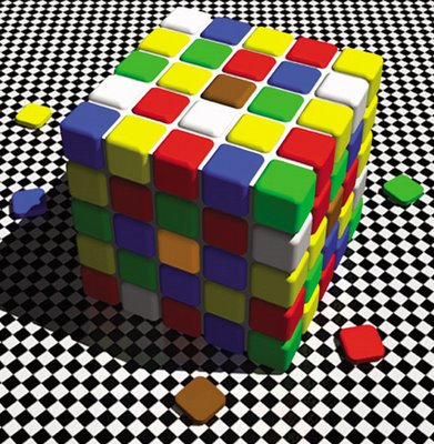 Color Tile Illusion   New Aspect