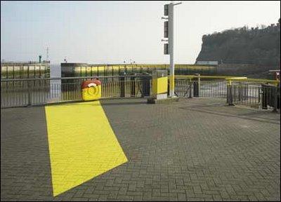 Cardiff Bay Baragge Illusion by Felice Verini