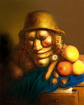 Fruit Man Illusions