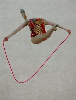 Rhythmic Gymnastics Illusion