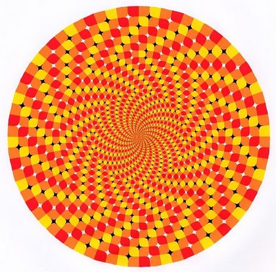 Vortex Optical Illusions