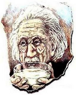 Yet Another Einstein Optical Illusion