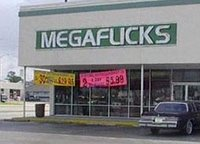 Mega Flicks Store Optical Illusion