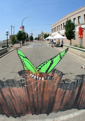 Pavement Art Illusions From Germany