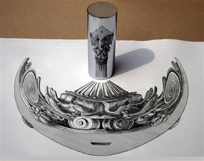 Cylindric Mirror Illusions Galore!