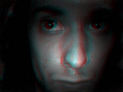 Anaglyph 3D Photos Illusion