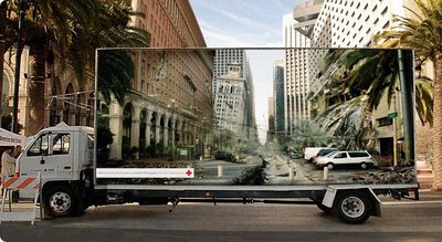 Red Cross Transparent Billboard