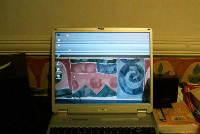 Night Vision Transparent Laptop