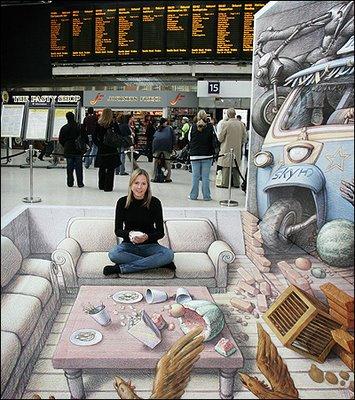 Kurt Wenners Waterloo Station Street Art