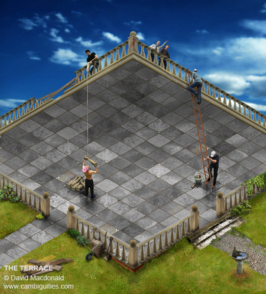 Parallel World Illusion