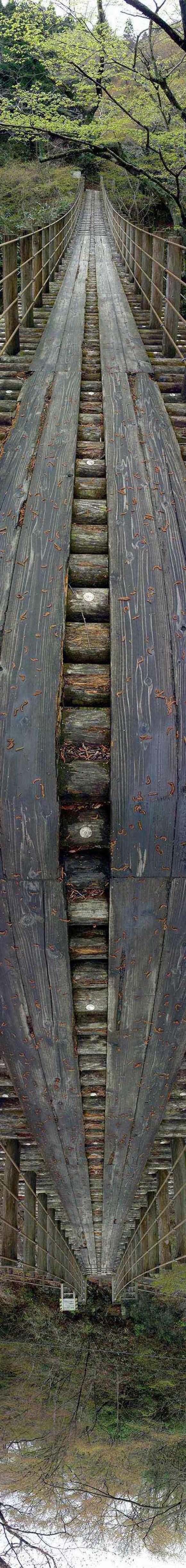 Wooden Bridge Illusion