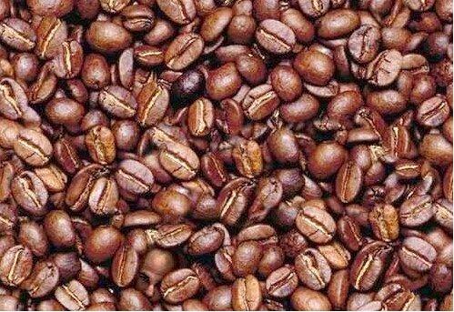 Coffee Bean Man Optical Illusion