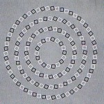 Crossing Circles Optical Illusion