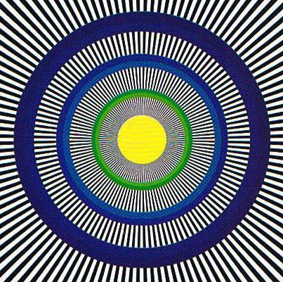 Spinning Circles Optical Illusion
