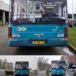 Back Bus Billboard Illusion