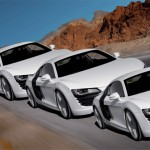 Which one is largest? - Illusion of 3 Audi