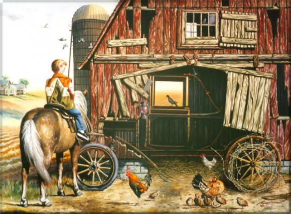 Cheating Amish Optical Illusion