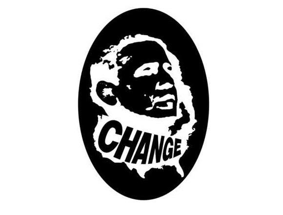 Three Barack Obama Afterimages
