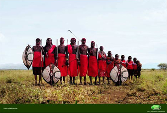 Maasai Landrover Freelander Illusion
