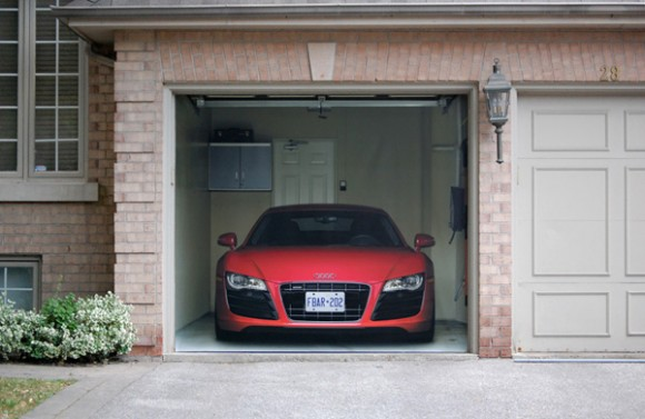 """Hmm, they say: """"Get an Audi R8 for just $469.99 this way"""". I say: """"$$$ for just a poster""""?!!"""