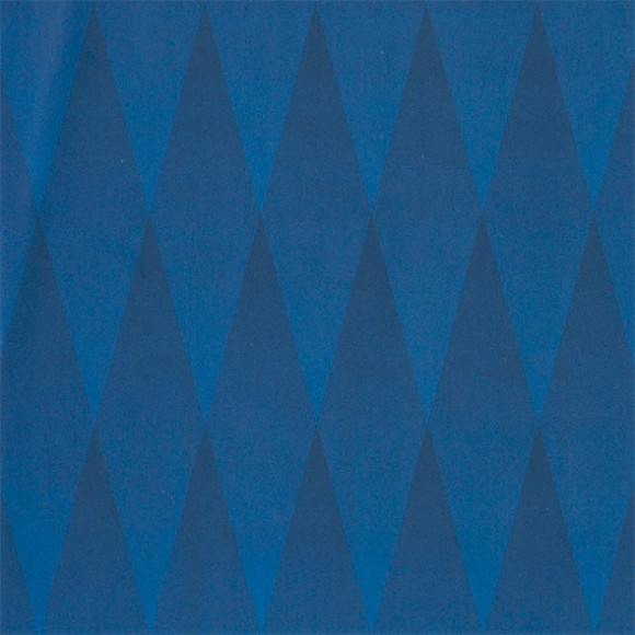 Blue Diamonds Optical Illusion