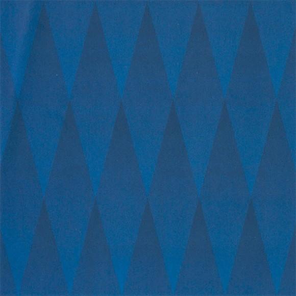 Blue Diamonds Optical Illusion