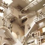 Henry Lims LEGO Escher