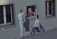 Google Street View Illusion