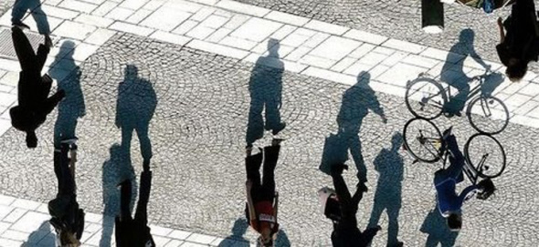Shadow Square Optical Illusion