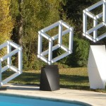 Francis Tabary Impossible Structure Sculpture Optical Illusion