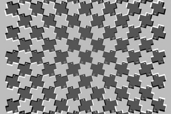 optickle illusions you spin me right round Mesti pening tengok gambar ini [optical illusions]