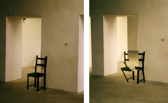 perspective chair optical illusion