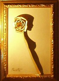 Beautiful Rose Shadow