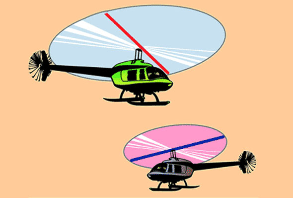 G. Sarcone - Helicopter Lines Optical Illusion