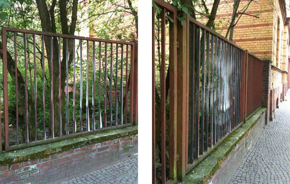 A Street Art Optical Illusion