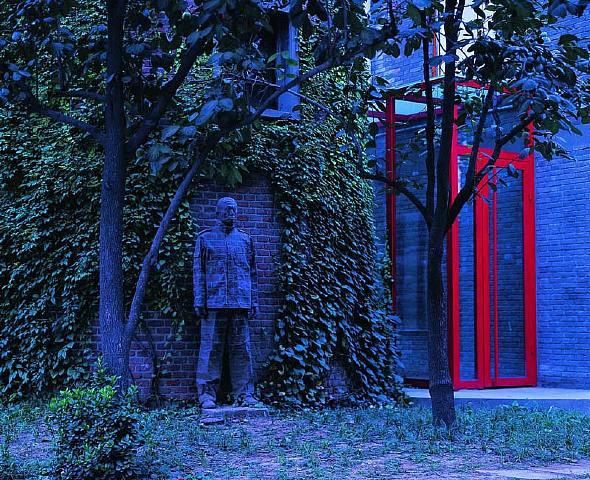Liu Bolins Brick Wall Camouflage