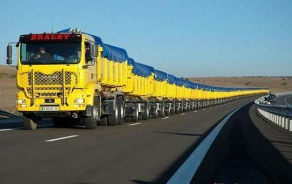 Cars And Trucks Optical Illusion