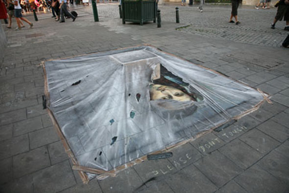 Julian Beever is Back... Again!
