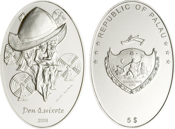 Don Quixote Silvercoin Illusion