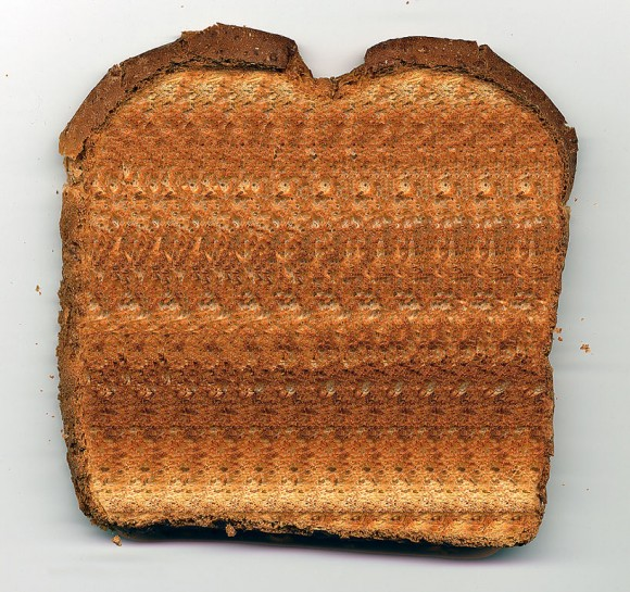 Toast Stereogram Illusion