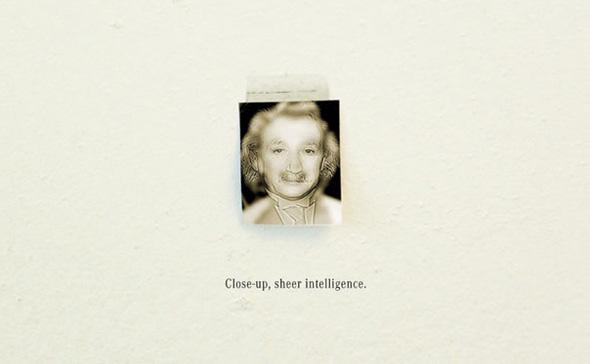 Mercedes Re Invents Marilyn Einstein Optical Illusion