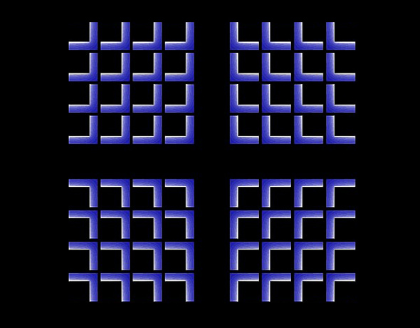 Shrinking Cross Optical Illusion
