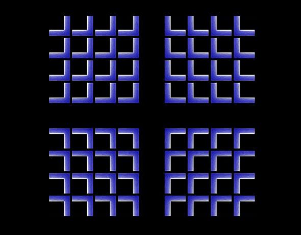 Shrinking Cross Optical Illusion