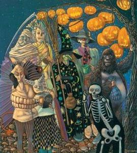 The Halloween Tree Illusion