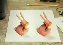Optical Illusion Printer