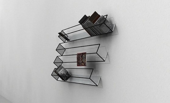 Optical Illusion Bookshelf
