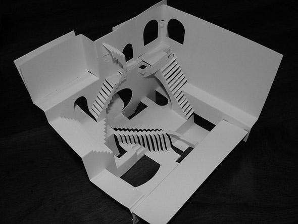 M.C. Escher In Origami